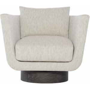 Gemma Leather Swivel Chair