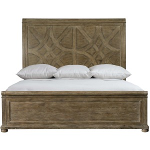 Rustic Patina Panel Bed
