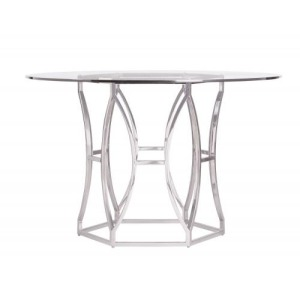 Argent Round Dining Table (48\