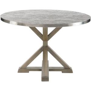 Stockton Round Metal Dining Table