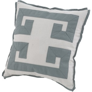Decorative Pillow Double Greek Key