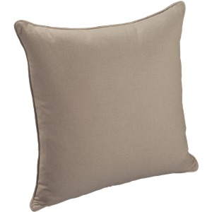 Throw Pillow Knife Edge Square with Welt