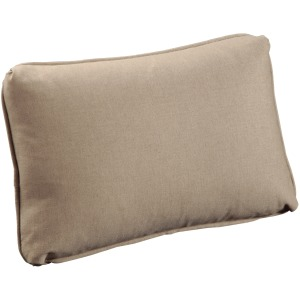 Throw Pillow Knife Edge Kidney with Welt