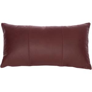 "Custom Decorative Pillows Knife Edge Kidney weltless (12"" x 22"")"