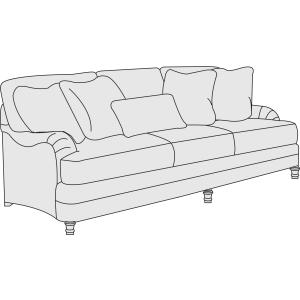 Sofa (86-1/2