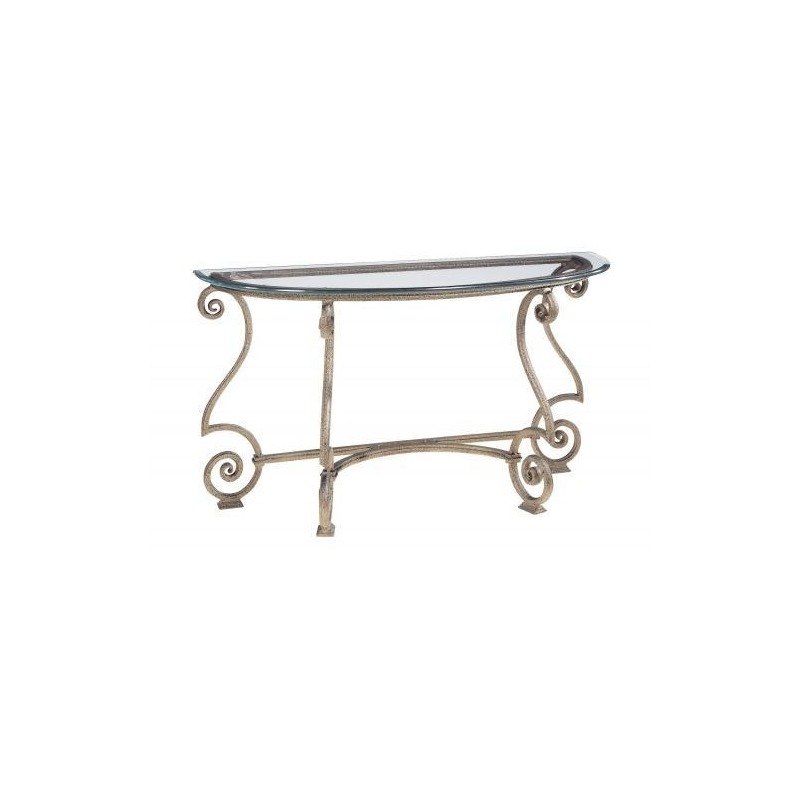 Marvelous Solano Console Table Glass Top And Base By Bernhardt Interior Design Ideas Clesiryabchikinfo