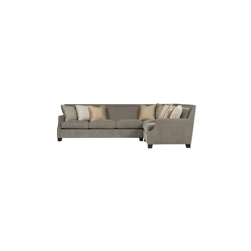 Awe Inspiring Franco Sectional 3 Piece By Bernhardt Furniture N9192 Machost Co Dining Chair Design Ideas Machostcouk