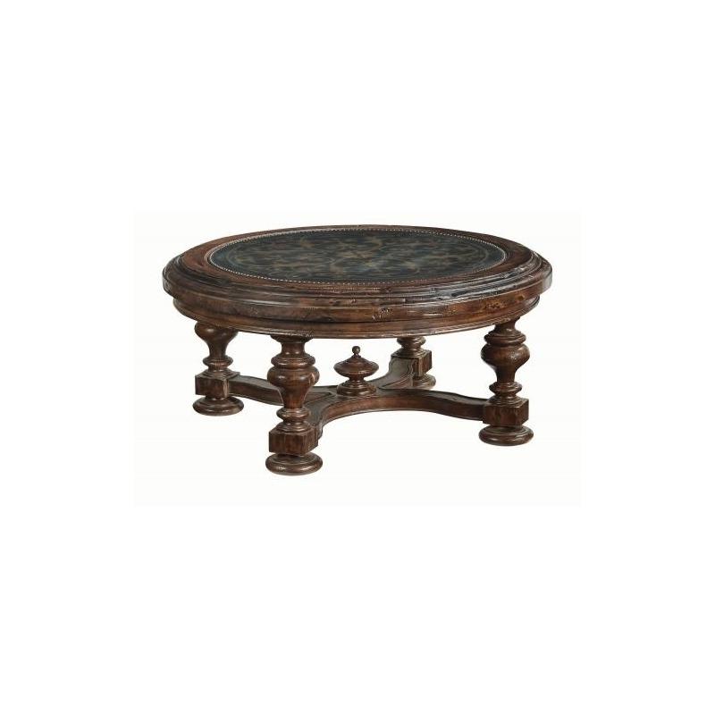Pleasing Marquis Round Cocktail Table By Bernhardt Furniture 437 Theyellowbook Wood Chair Design Ideas Theyellowbookinfo