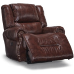 PWR SPACE SAVER RECLINER W/HT