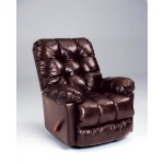 Brosmer Space Saver Recliner - Leather