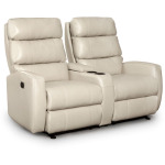 Hillarie Power Rocking Console Loveseat with Headtilt