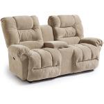 Seger Power Rocking Console Loveseat