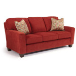 Annabel Stationary Sofa with 2 Pillows