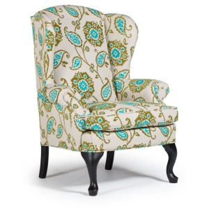 Sylvia Queen Anne Wing Chair