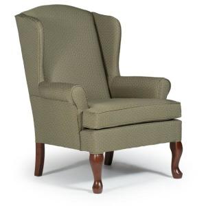 Doris Queen Anne Wing Chair