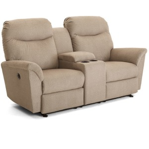 Caitlin Rocking Console Loveseat