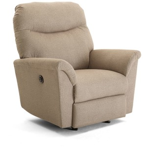 Caitlin Power Swivel Glider Recliner W/ Power Tilt Headrest