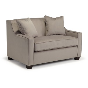 Marinette Chair & Half W/ Air Dream Twin Sleeper