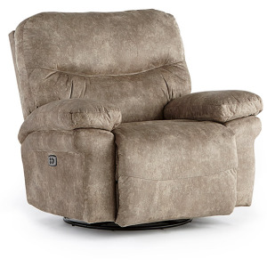 Leya Power Space Saver Recliner W/ Power Tilt Headrest