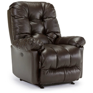 Brosmer Power Swivel Glider Recliner W/ Power Tilt Headrest