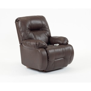 Brinley2 Power Rocker Recliner - Leather