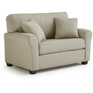 Shannon Chair & Half with Memory Foam Sleeper