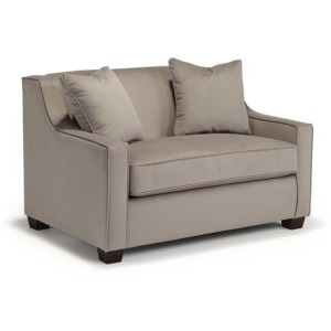 Marinette Chair & Half W/ Memory Foam Twin Sleeper
