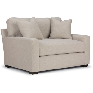 Hannah Club Chair W/2 Pillows