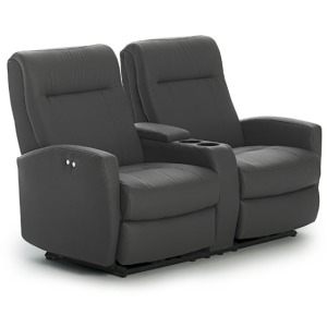 Costilla Power Space Saver Loveseat W/ Power Tilt Headrest