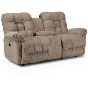 Everlasting Power Rocking Console Loveseat W/ Power Tilt Headrest