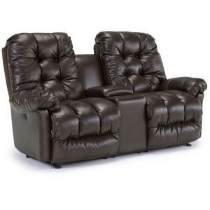 Everlasting Power Spacesaver Console Loveseat with Head Tilt