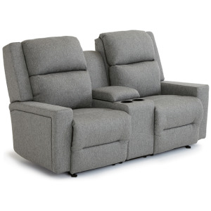 Rynne Power Space Saver Console Loveseat with Headtilt & Lumbar