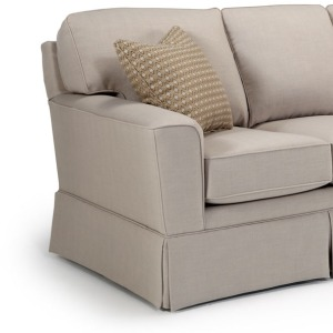 Annabel Stationary Loveseat W/2 Pillows