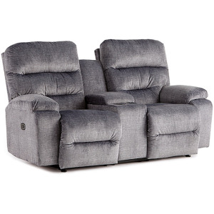 Ryson Power Space Saver Console Loveseat W/ Power Tilt Headrest