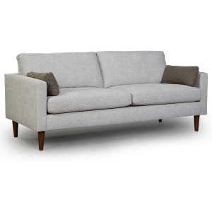 Trafton Stationary Sofa with 2 Pillows