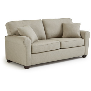 Shannon Stationary Sofa Queen Sleeper W/2 Pillows