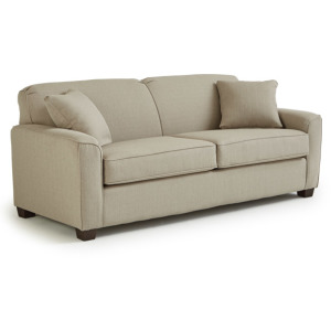 Dinah Memory Foam Sofa Queen Sleeper W/2 Pillows