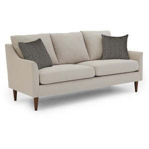 S30 Stationary Sofa W/2 Pillows