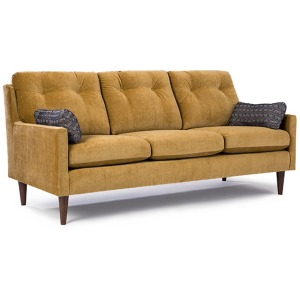 S38 Stationary Sofa W/2 Pillows