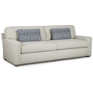Hannah Stationary Sofa W/2 Pillows