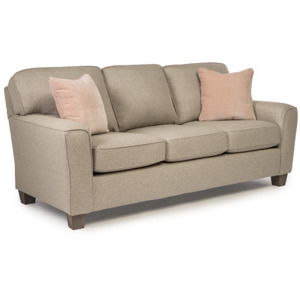 Annabel Stationary Sofa W/2 Pillows