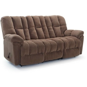 Lucas Power Space Saver Sofa W/ Power Tilt Headrest