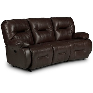 Brinley Power Space Saver Conversation Sofa W/ Power Tilt Headrest