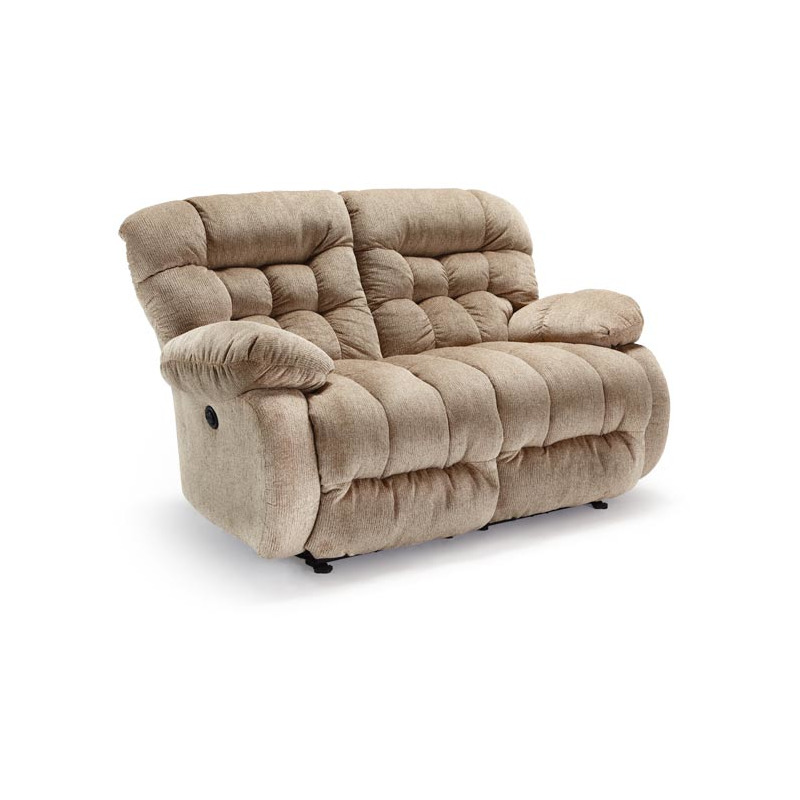 Plusher Power Space Saver Console Loveseat