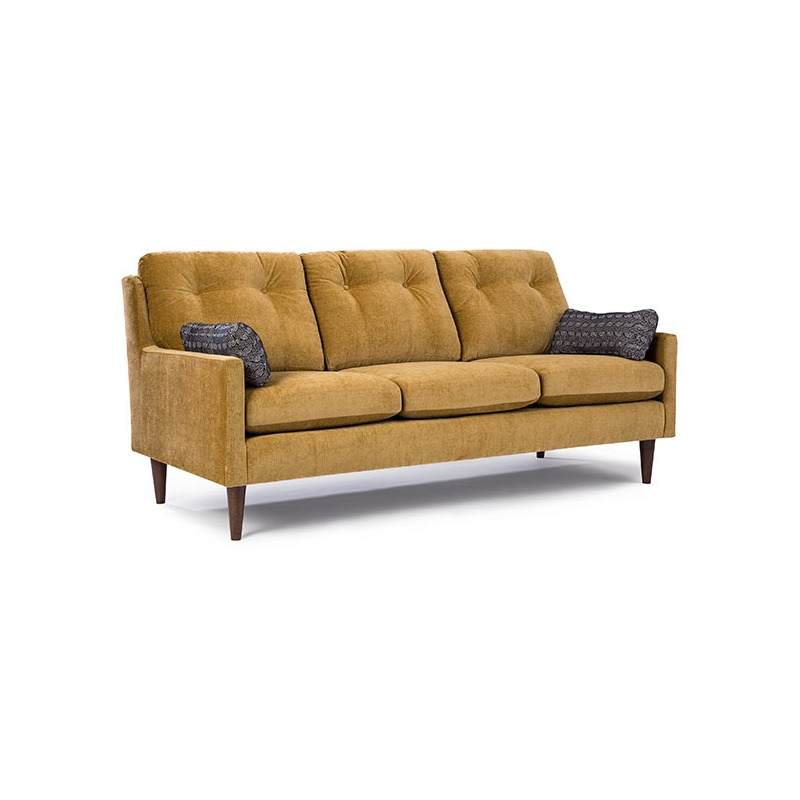 Trevin Stationary Sofa with 2 Pillows