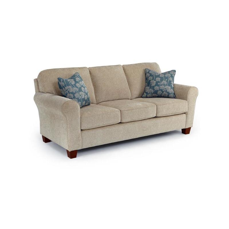 Annabel Stationary Sofa W/2 Pillows