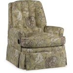 HALEYWALL-HUGGER RECLINER WITH SKIRT