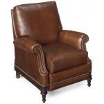 Castellon High Leg Leather Lounger