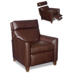 Delsin Leather Lounger Pop-Up Headrest
