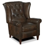 Tristan Leather Lounger